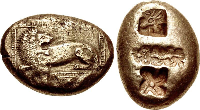 Mílétská mince z Thalétovy doby. Kredit: Wikimedia Commons.