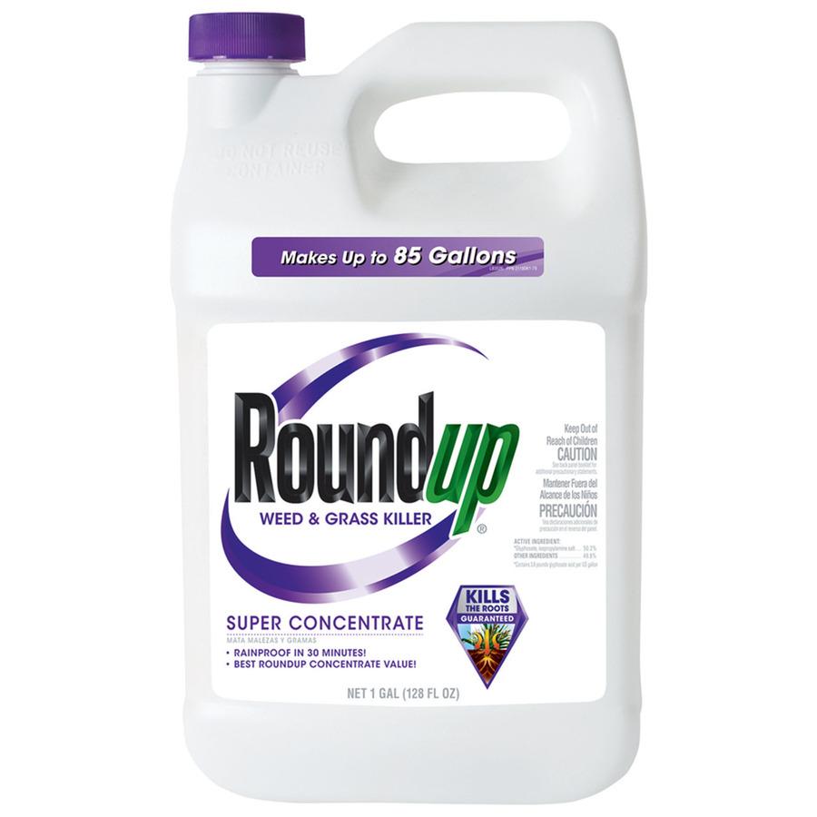 Glyfosát uvedla na trh firma Monsanto jv roce 1974 pod obchodním názvemRoundup. Širokospektrální systémovýherbicid se používá na hubeníplevelů, zejména jednoročních širokolistých plevelů a trav, které konkurujízemědělským plodinám.