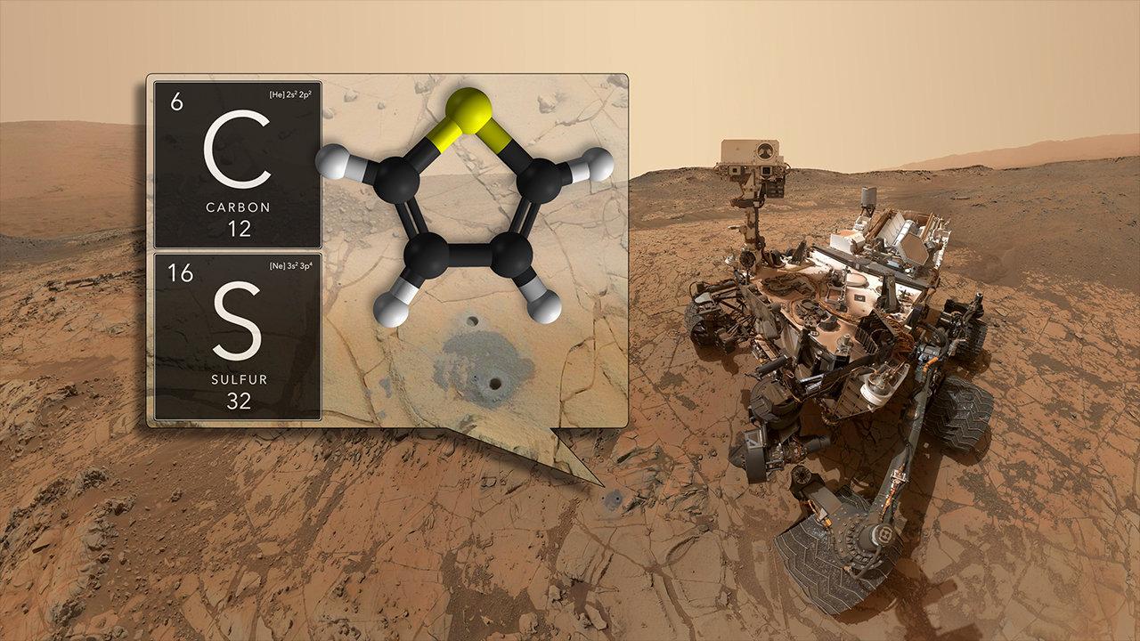 Curiosity řádí na Marsu. Kredit: NASA's Goddard Space Flight Center