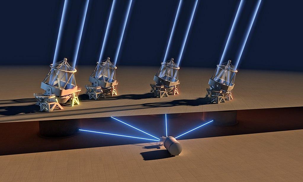 Spektrograf ESPRESSO vakci. Kredit: ESO/L. Calçada.