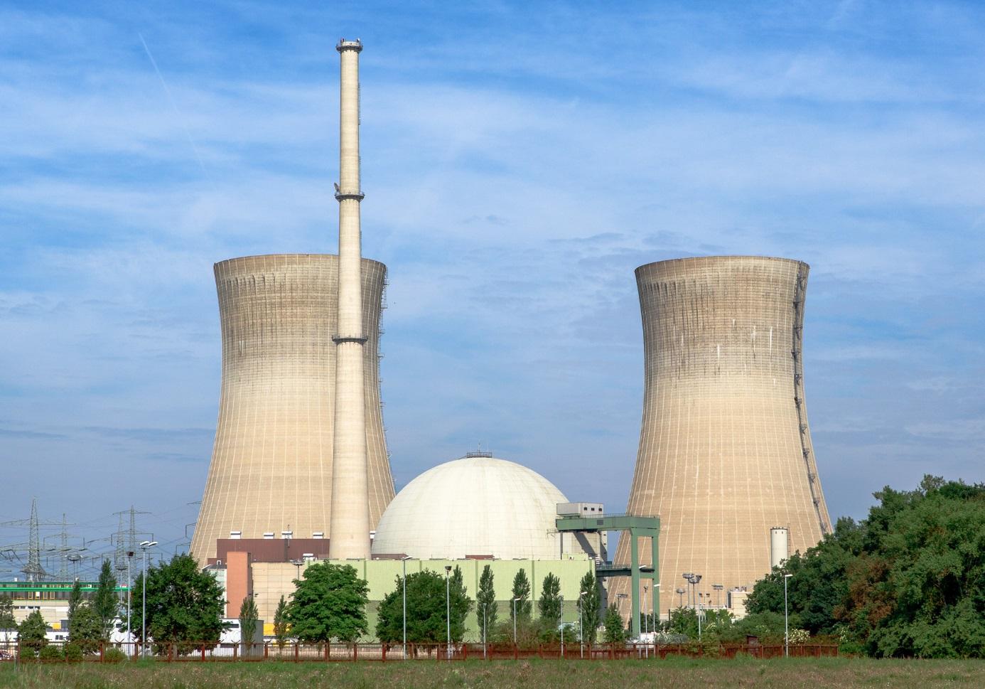 Jaderná elektrárna Grafenrheinfeld byla první velkou jadernou elektrárnou v Bavorsku, která byla odstavena (zdroj Avda).