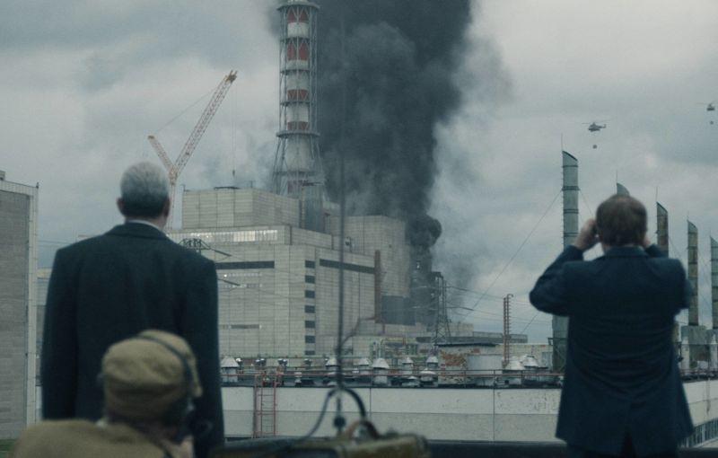Havárie v zobrazení seriálu (zdroj HBO).