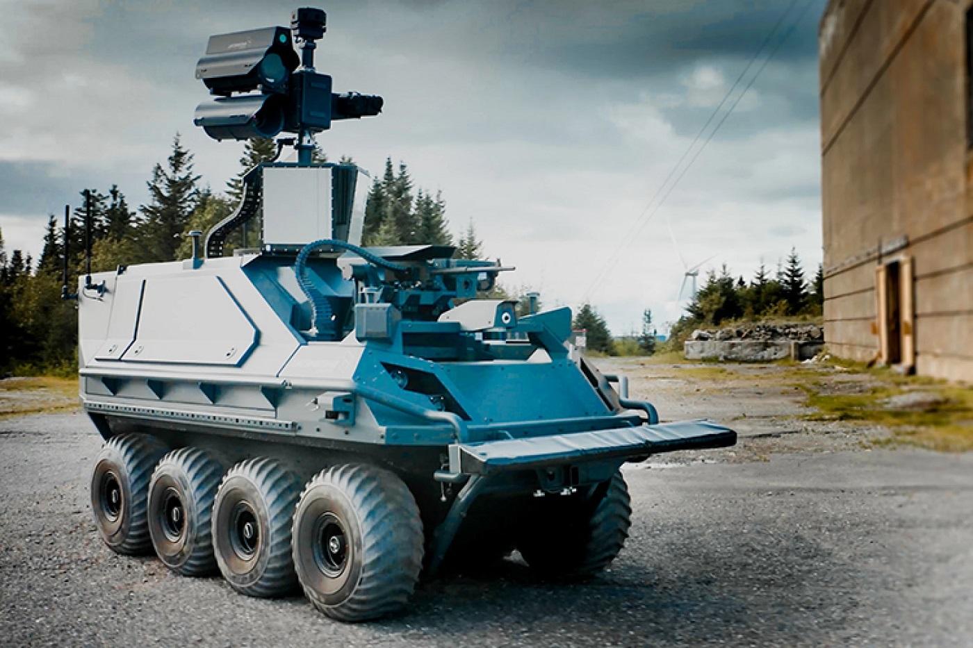 Nový bojový robot Mission Master – Armed Reconnaissance. Kredit: Rheinmetall.