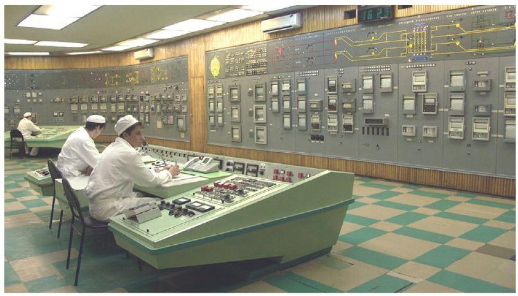Velín výzkumného reaktoru BOR 60 (zdroj NIIAR).