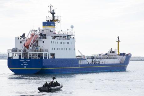 Palivo typu MOX pro elektrárnu Takahama se vydalo na cestu z Francie do Japonska (zdroj Cédric Helsly/Areva).