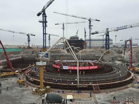 Start budování reaktoru Huanlong One jako pátého bloku elektrárny Fu-čching (Fuqing) (zdroj CNNC).