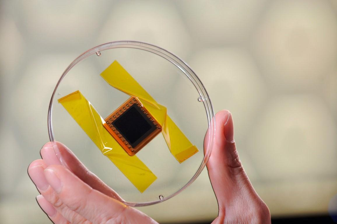 NanoRacks Nano Tube Solar Cell. Zdroj: spaceflight101.com