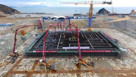 Zahájení výstavby rychlého sodíkového reaktoru CFR-600 v Xiapu (zdroj CNNC).