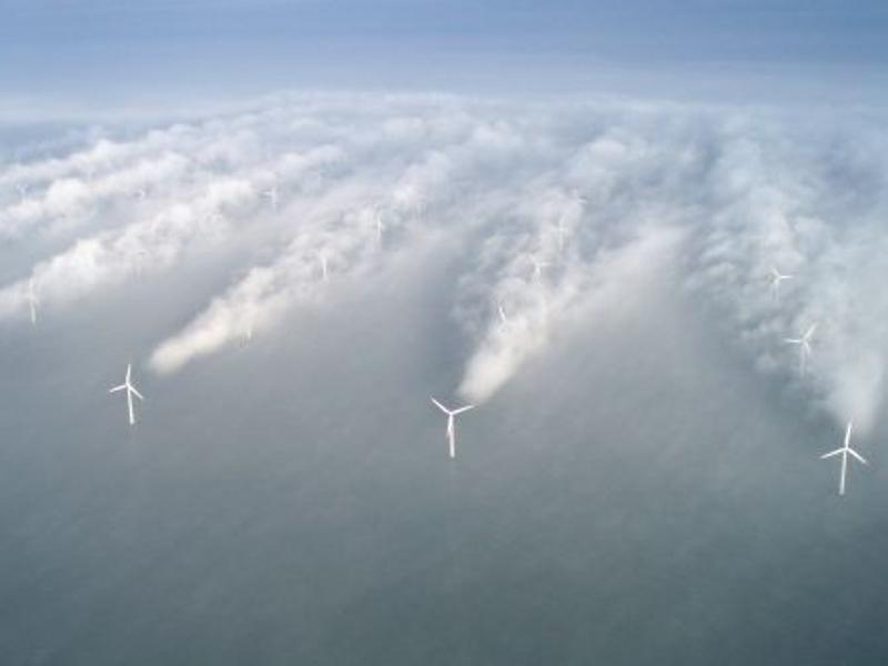 Jedna z nejmodernějších mořských větrných farem (zdroj Vattenfall).