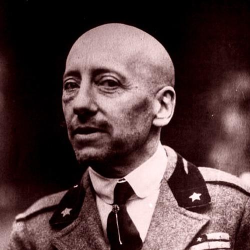 Gabriele D'Annunzio v roce 1922. Kredit: volně dostupné.