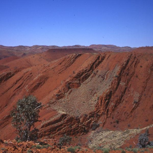 Nejstarší vzorky ve výzkumu pocházejí ze Severozápadní Austrálie. Kredit: R. Buick/ University of Washington.