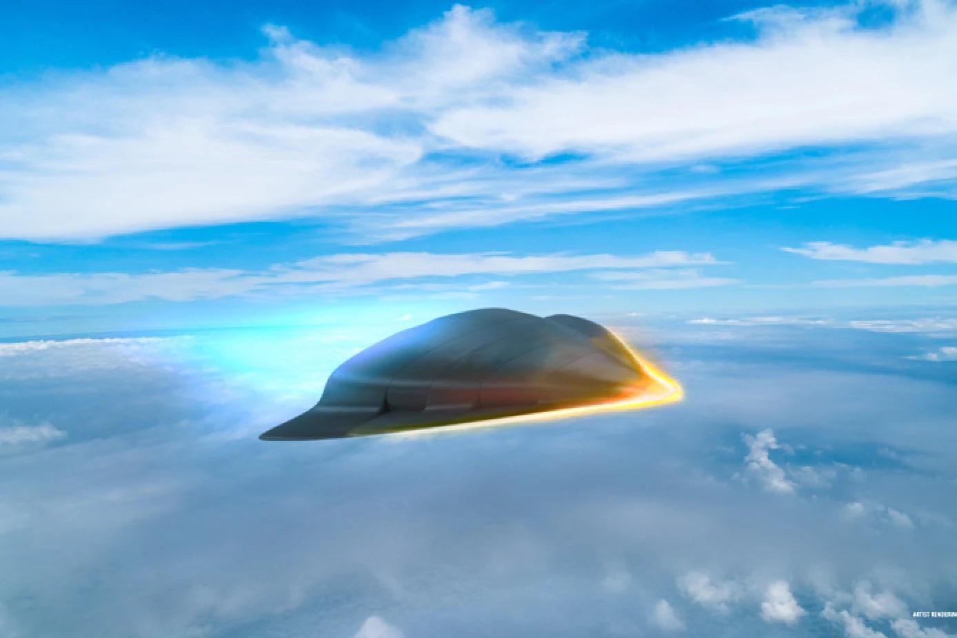Nový materiál se bude hodit pro hypersonické letouny. Kredit: Raytheon.