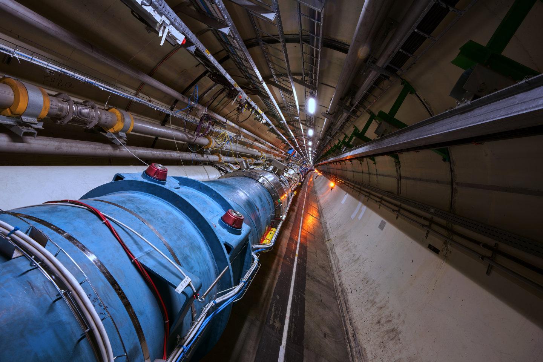 Velký hadronový srážeč, CERN. Kredit: Maximilien Brice/Julien Ordan/CERN.
