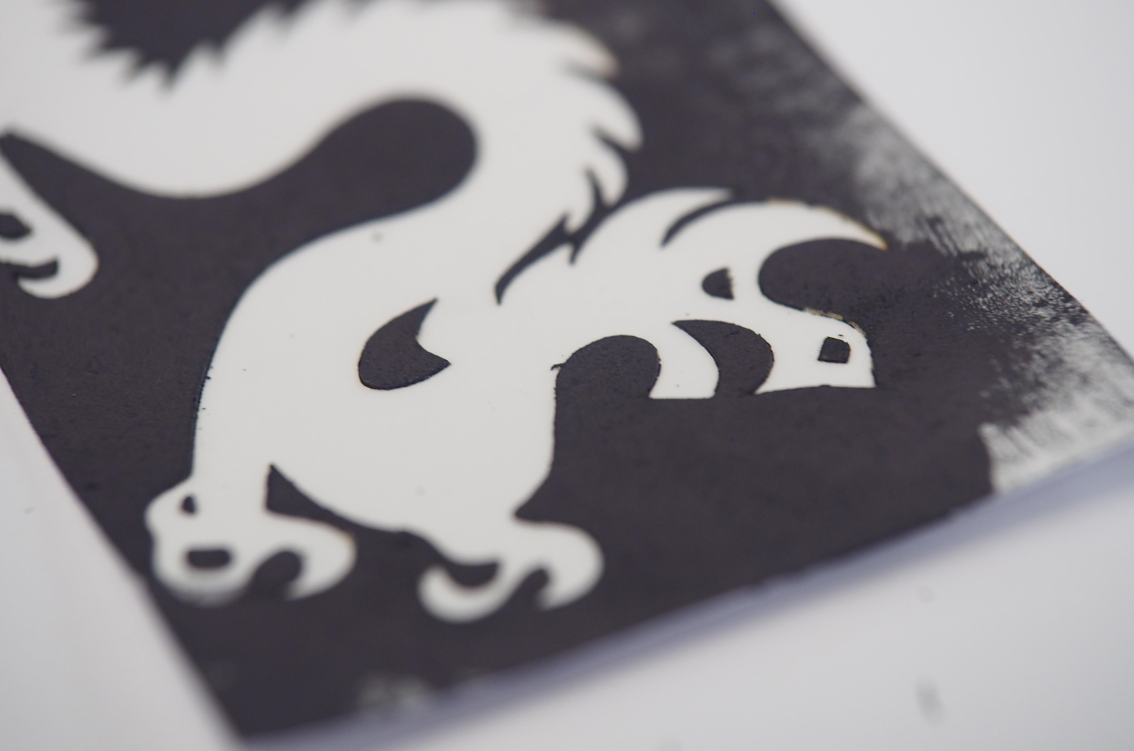 2D anténa ve tvaru draka. Kredit: Drexel University.