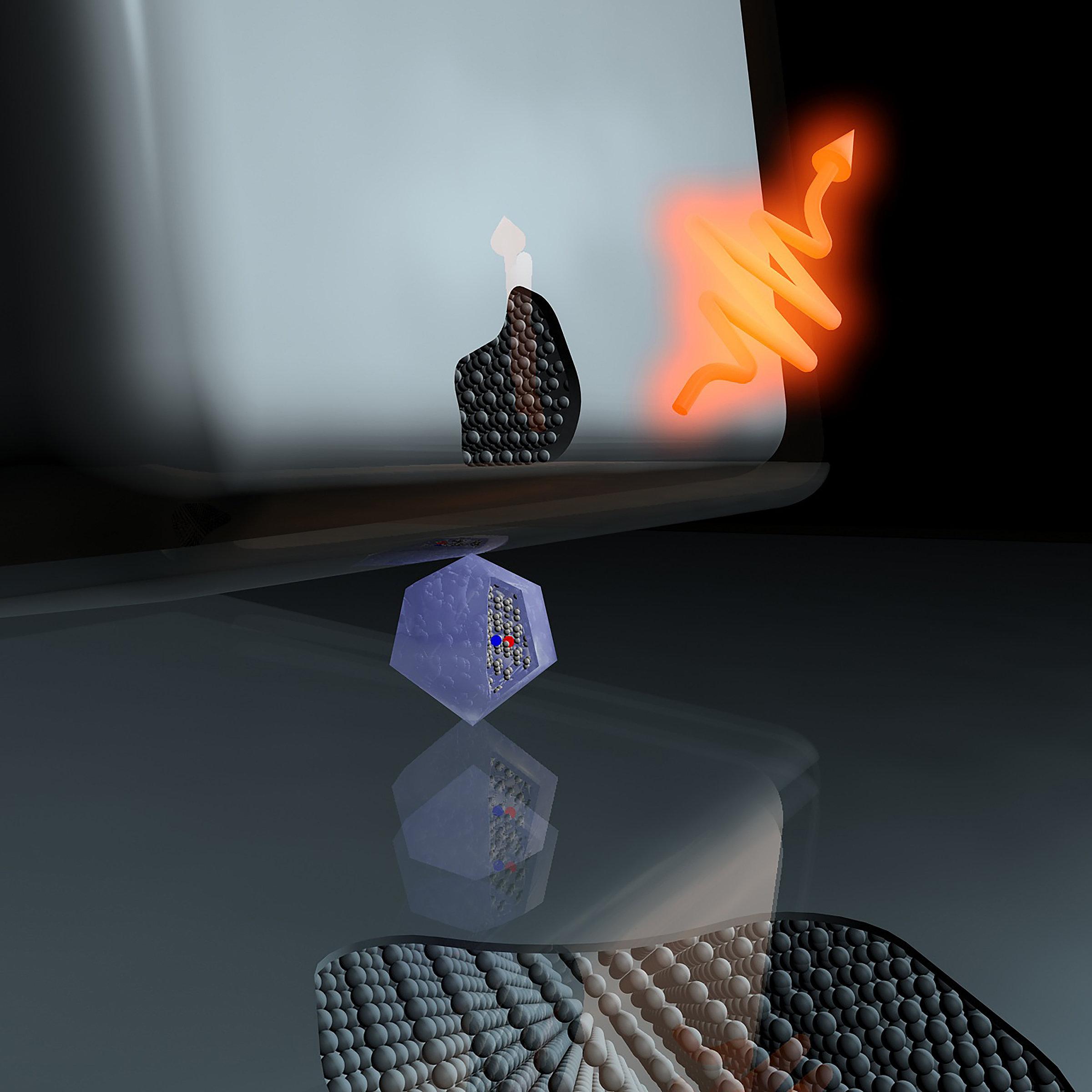 Bude kvantová komunikace hackuvzdorná? Kredit: MIT/ Mikhail Shalaginov.