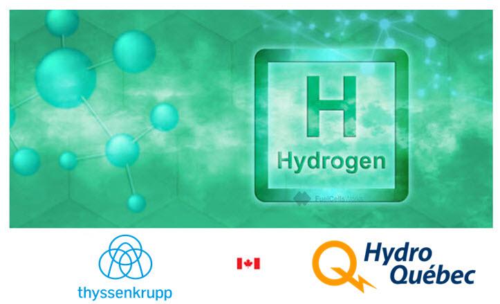 VKanadě věří na vodík. Kredit: Hydro-Québec.