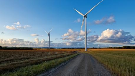 Německo spoléhá na větrné turbíny hlavně na severu země. Jedna z moderních turbín firmy Siemens, které přesahují výšku 100 m (zdroj Siemens).