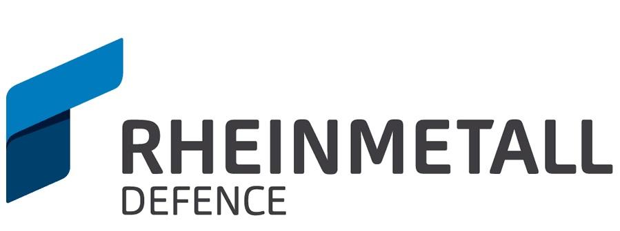 Rheinmetall Defence, logo.