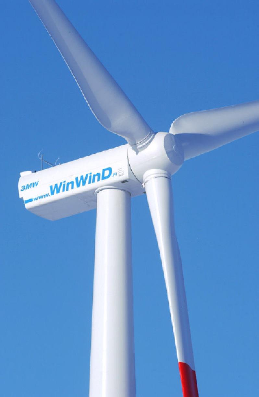 Turbínu WinWinD – WWD3 používá i větrná elektrárna Pchery (zdroj WinWinD).