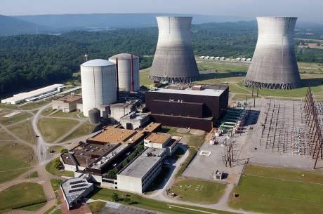 Jaderná elektrárna Bellafonte bude možná také dokončena jako Watts Bar II (zdroj TVA).