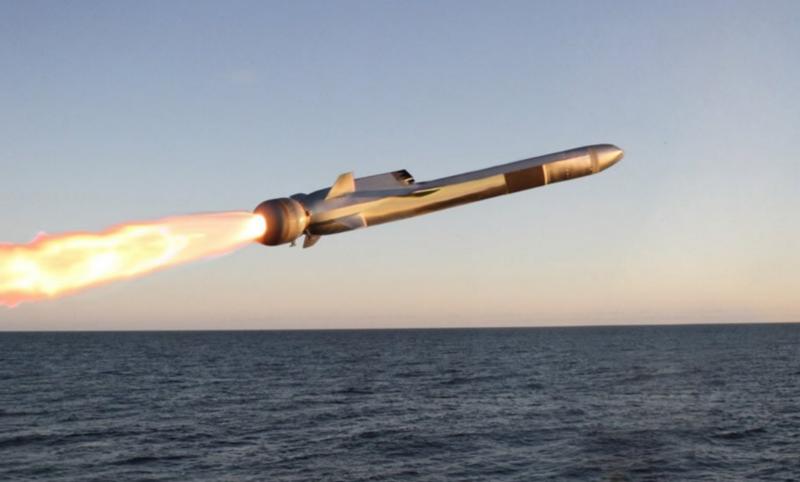 Střela Naval Strike Missile. Kredit: US DoD / Wikimedia Commons.