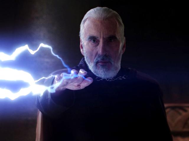 Hrabě Dooku, idealista ve službách Temné strany. Kredit: Lucasfilm.
