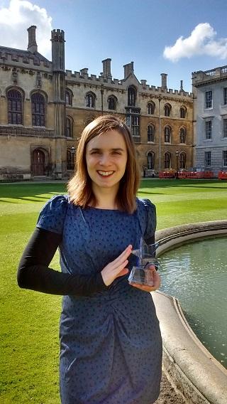 Charlotte Houldcroft. Kredit: University of Cambridge.