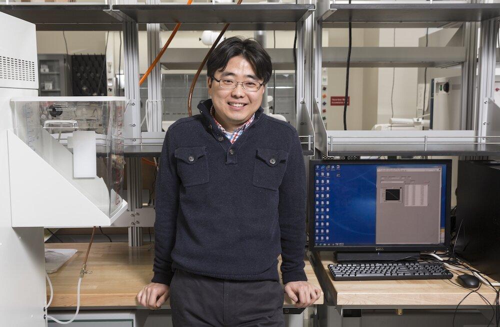 Seokheun Choi. Kredit: Binghamton University, State University of New York