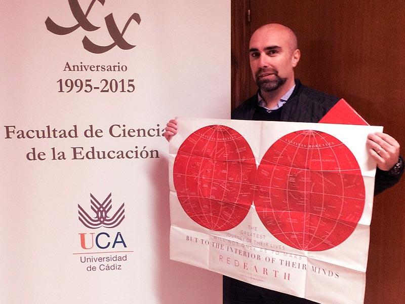 Gabriel de la Torre. Kredit: Universidad de Cádiz.