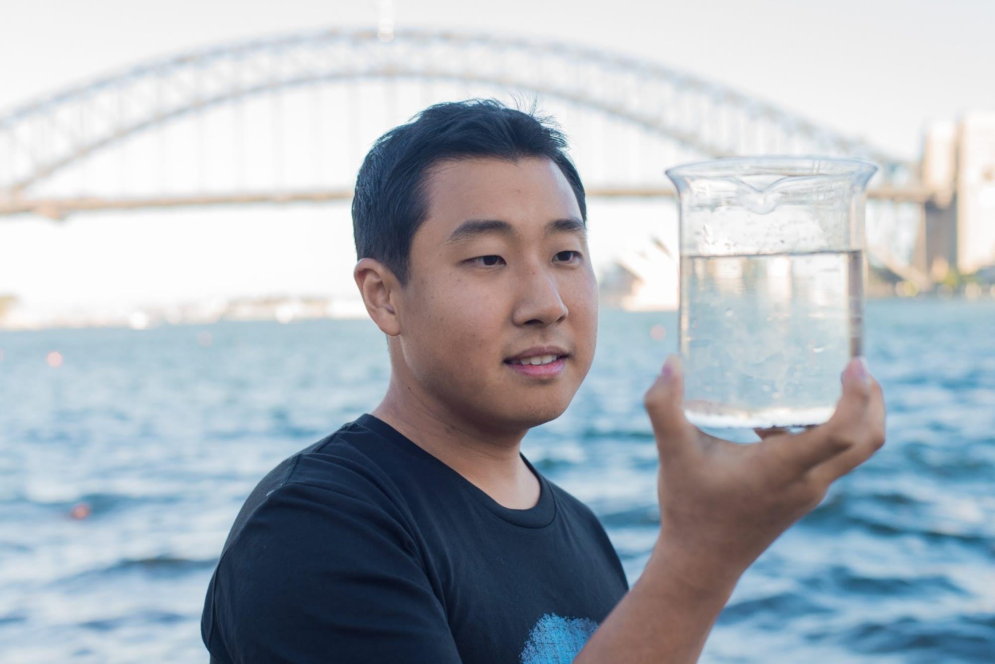 Dong Han Seo. Kredit: CSIRO.