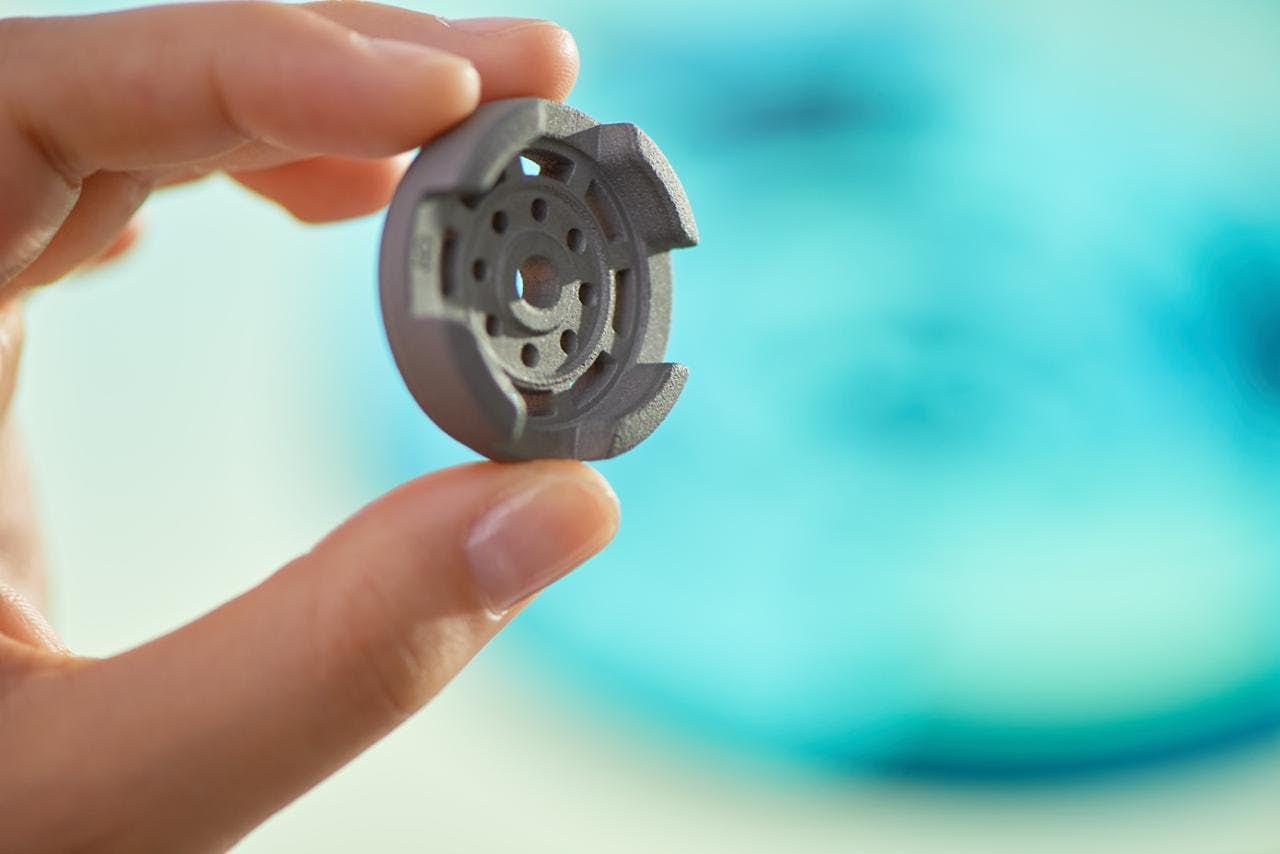 Produkty 3D tisku kovu: Přesné, pevné, rychle vyrobené a laciné. Kredit: HP.