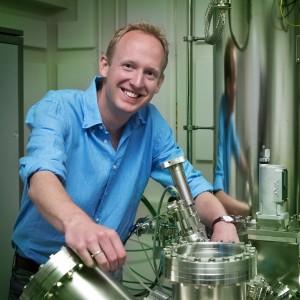 Sander Otte. Kredit: Kavli Institute of Nanoscience.