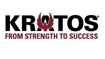Logo společnosti Kratos.