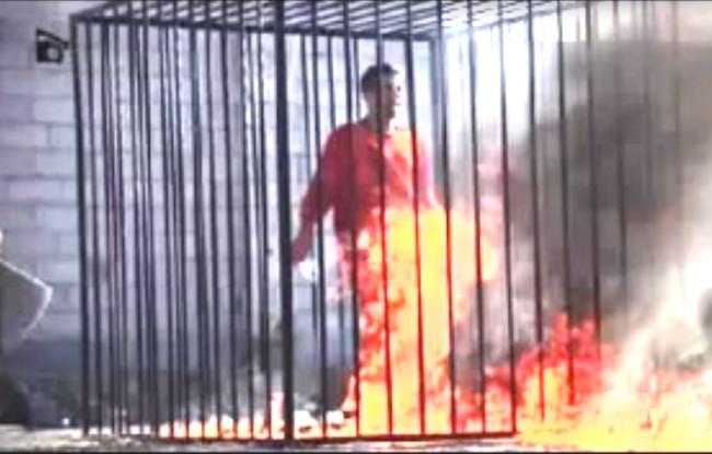 ... ale čo je to oproti upáleniu jordánskeho pilota (dielo Islamského štátu)?