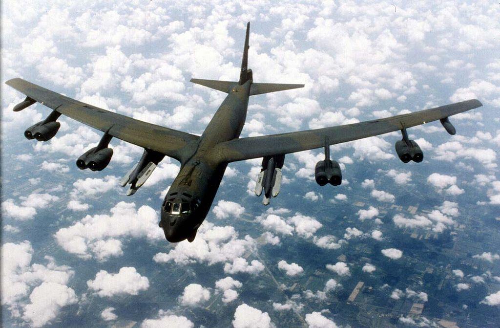 Boeing B-52G Stratofortress. Kredit: U. S. Air Force.