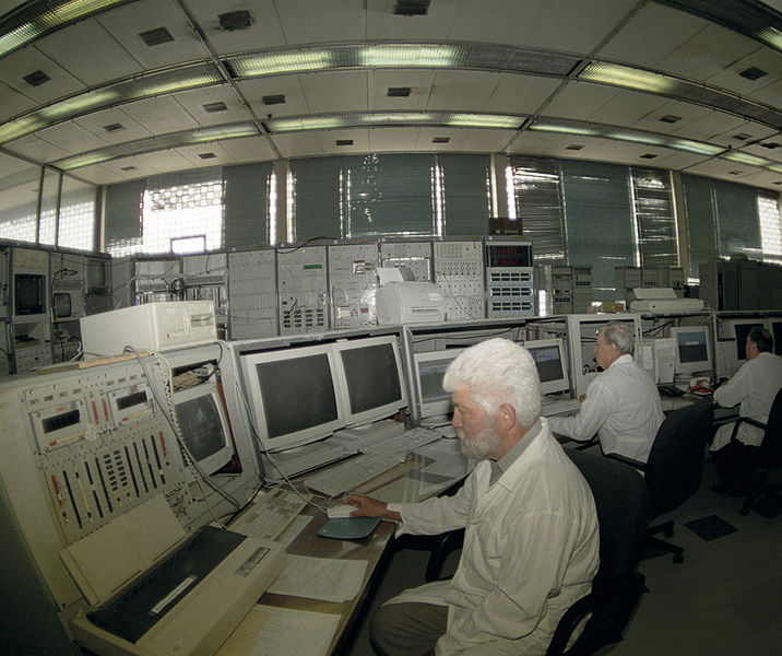 Velín synchrotronu U-70, dodnes nejvýkonnějšího urychlovače vRusku. Kredit: RIA Novosti / Wikimedia Commons.