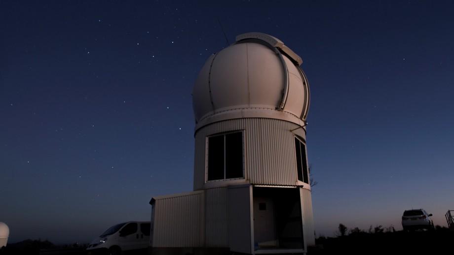 Teleskop SkyMapper. Kredit: ANU.