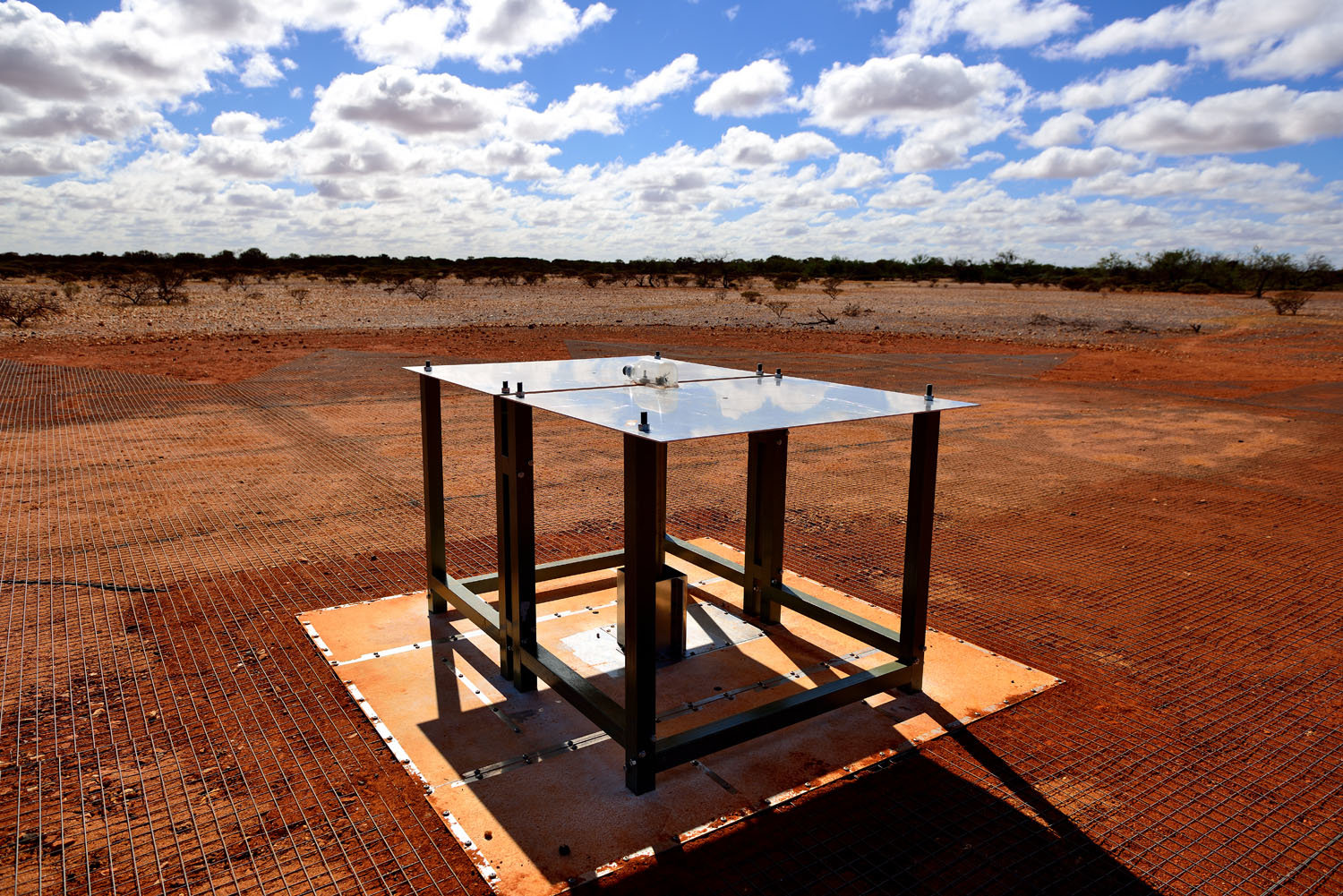 Experiment EDGES. Kredit: CSIRO Australia.