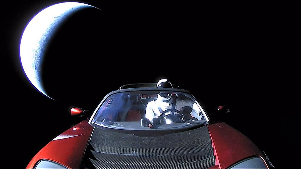 Poslední foto na rozloučenou. Sbohem a díky za všechny ryby. Kredit: SpaceX.