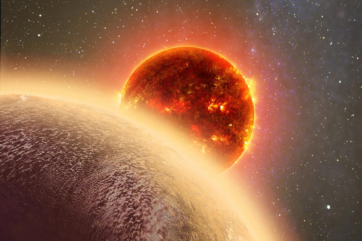 Planeta GJ 1132b. Kredit: Dana Berry/MIT.