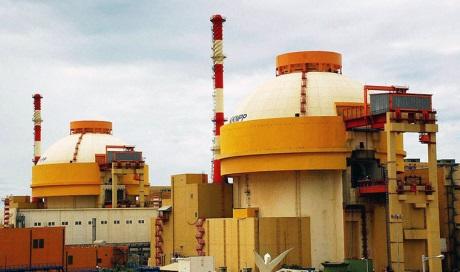 Elektrárna Kudankulam se dvěma bloky VVER1000 (zdroj Rosatom).