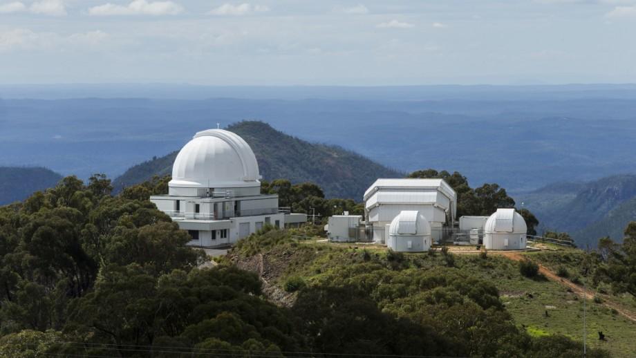 Mount Stromlo Observatory. Kredit: Australian National University.
