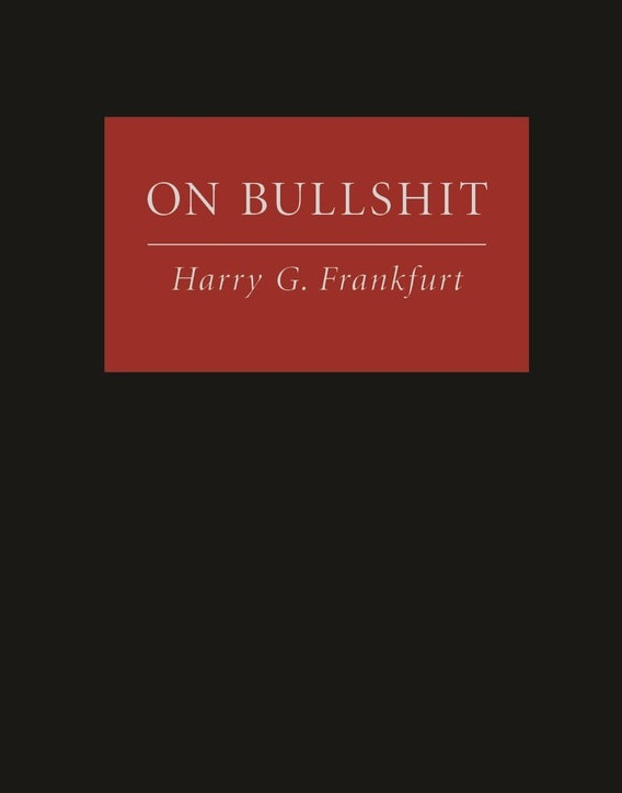On Bullshit. Kredit: Princeton University Press.