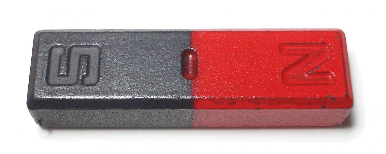 Magnet jako vyšitý. Kredit: Aney / Wikimedia Commons.
