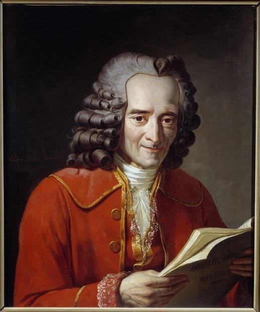 """""""Those who can make you believe absurdities, can make you commit atrocities"""" (neoficiálnĂ pĹ™eklad: """"Ti, co tÄ› pĹ™imÄ›jĂ uvěřit absurditám, mĹŻĹľou tÄ› pĹ™imÄ›t spáchat zvÄ›rstva"""") Voltaire byl jednĂm z prvnĂch kritikĹŻ Pascalovy sĂ"""
