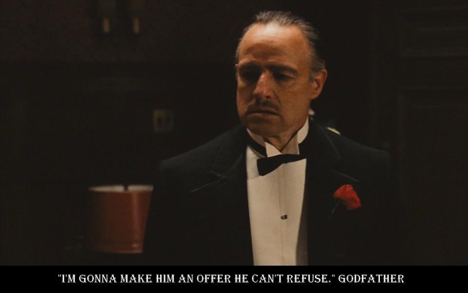 """""""Udělám mu nabídku,jakounebude moci odmítnout."""""""