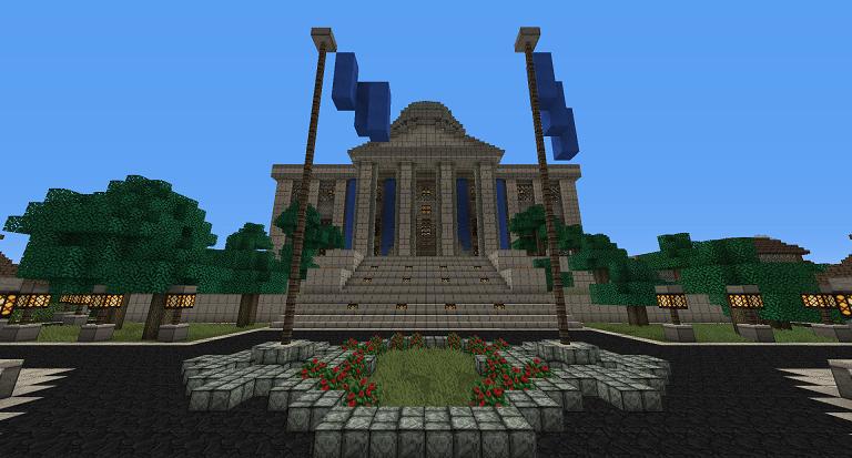 Ukázka z hry Minecraft. (Zdroj: http://www.minecraftforum.net/)