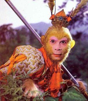 Opičí král, jak ho známe i u nás. Kredit: CCTV.