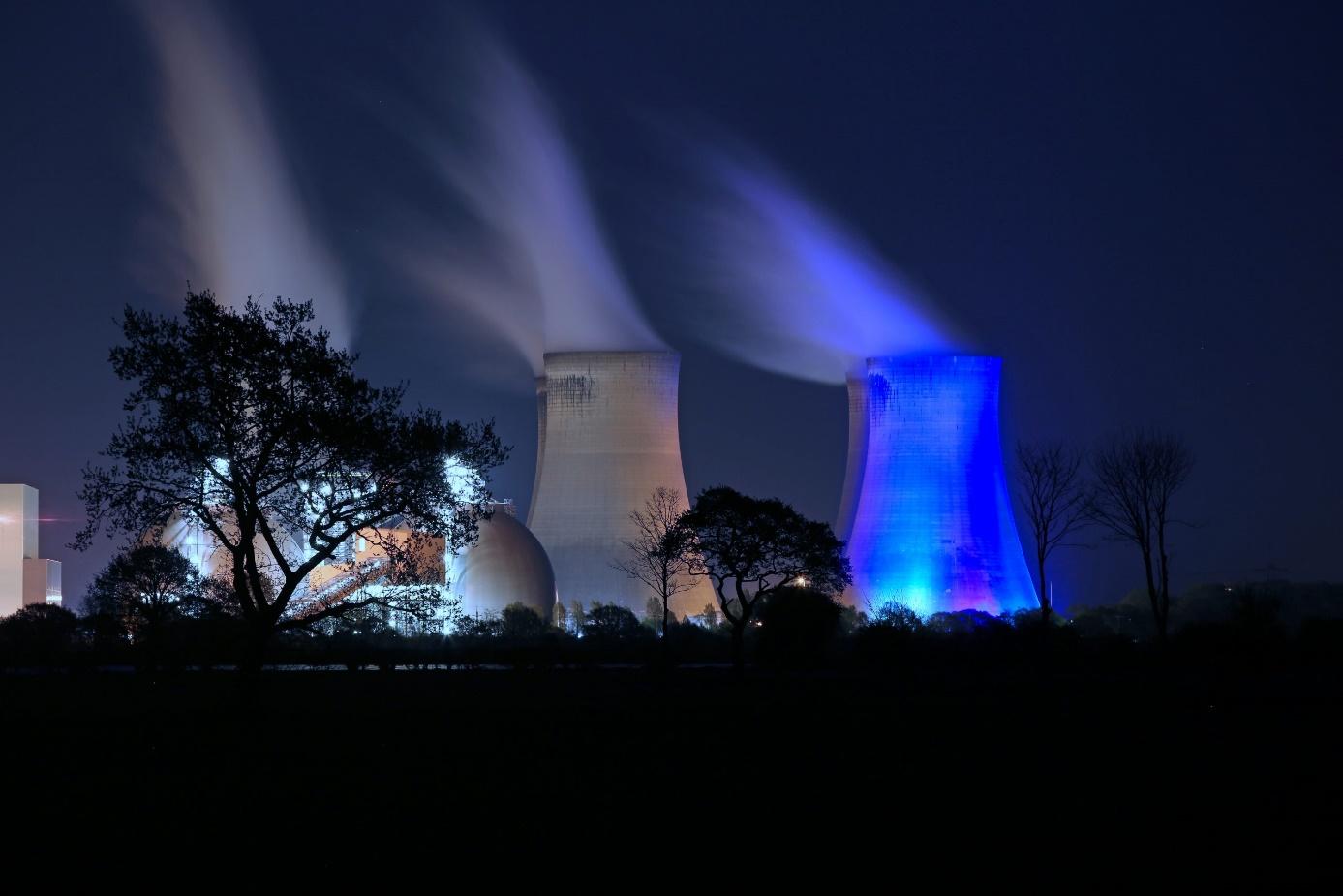 Německo se chystá vydat cestou spalování biomasy, jako se provozuje v elektrárně Drax (Kredit: Drax).