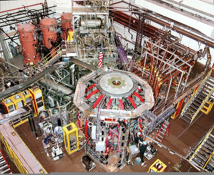National Spherical Torus Experiment. Kredit: PPPL.